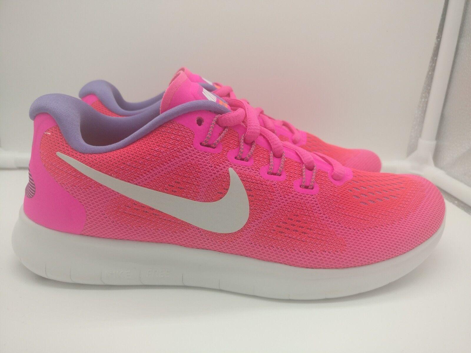 Nike de mujer libre rn 2017 ejecutar UK 3 3 3 Racer rosado blancoo Apagado 880840-601  popular