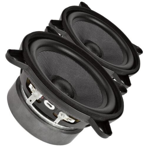"""Pair Faital PRO 4FE35 4/"""" Midrange full-range Woofer Speaker 8 ohms 60W 91dB"""