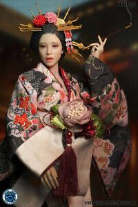 SUPER DUCK SET052 1/6 Geisha Head Suit Clothes Set fit 12'' Phicen Figure Toy