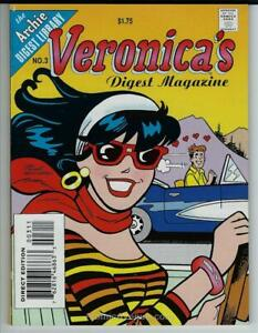Veronica-s-Digest-Magazine-3-VF-NM-Archie-save-on-shipping-details-inside