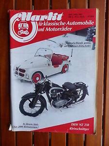 DKW NZ 250 von 1934 - Titel-Story auf 3 Seiten - Oldtimer Markt Heft 3/1985