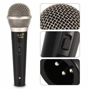 pro omni directional handheld wired dynamic mic microphone with 3m audio cable ebay. Black Bedroom Furniture Sets. Home Design Ideas
