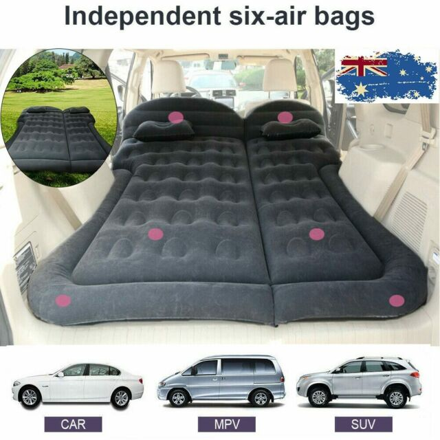 Inflatable Car SUV Truck Bed Back Seat Mattress Air Bed Travel Sleep Camping AU
