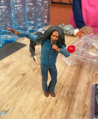 Bob Marley Action Figure Toy Legends Jamaica Singer Bob Marley With Microphone