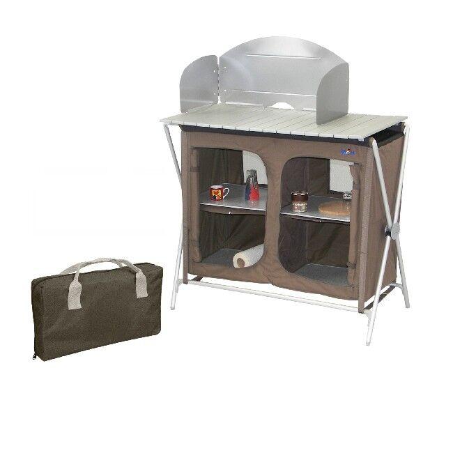 Camping Bel Sol Küche Küchenschrank Kocherschrank Klappschrank Fb terra