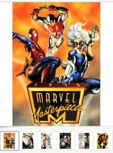 1996-Marvel-Masterpieces-BASE-Card-Singles-PICK-Choose-Ship-25-Cents-4