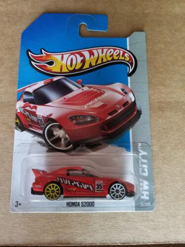 2013 Hot Wheels International HONDA S2000 21//250 Night Burnerz RED