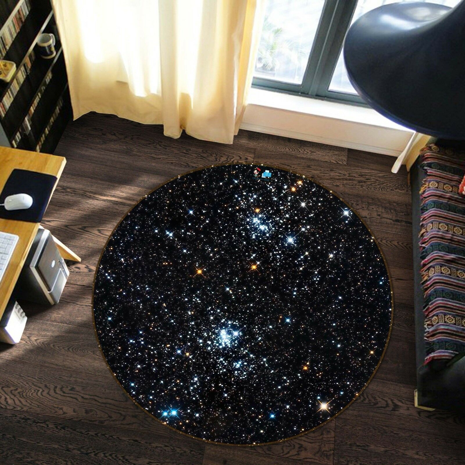 3d stelle cielo 3 antiscivolo TAPPETO TAPPETINO BAGAGLIAIO giri elegante TAPPETO de