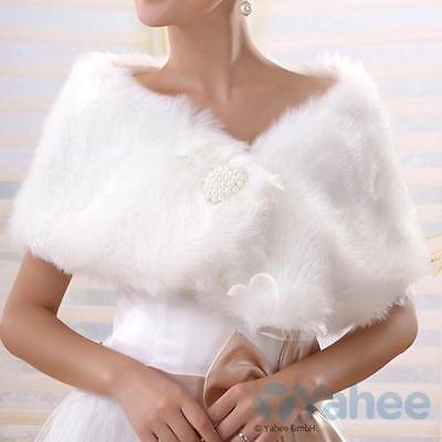 Brautjacke Brautstola Schulterjacke Hochzeit Winter für Brautkleid/Abendkleid