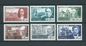 CELEBRITES-1970-YT-1623-a-1628-TIMBRES-NEUFS-LUXE