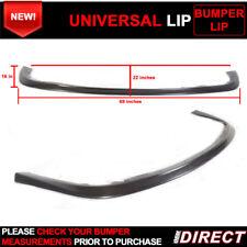Universal Fit Front Bumper Lip Chin Splitter Polypropylene PP -Check Measurement
