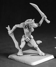 Koborlas Shadow Tracker Reaper Miniatures Warlord Werewolf Lupine Ranger Melee