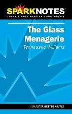 Spark Notes: The Glass Menagerie - Acceptable - Williams, Tennessee - Paperback