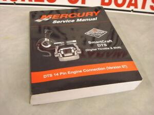 new 2007 mercruiser smartcraft dts digital service manual 90 rh ebay com Mercury Outboards Manuals Mercruiser Sterndrive Parts