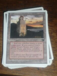 MTG-Magic-the-Gathering-URZA-039-S-TOWER-version-4-Chronicles-US-RARE-TOP-condition