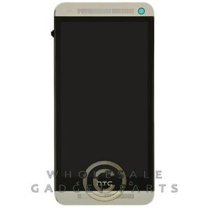 LCD-Digitizer-amp-Front-Housing-Assembly-for-HTC-One-M7-Silver-Display-Screen