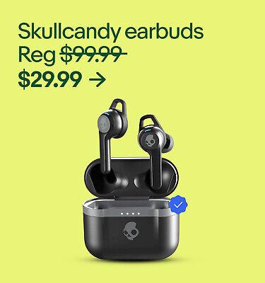 Skullcandy earbuds Reg $99.99 $29.99