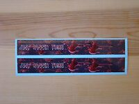 Carbon Arrow Wraps Custom 13 Pack 7 Inch Just Passin Thru White Carbon Fiber