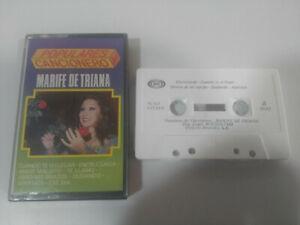 MARIFE DE TRIANA Flamenco Beliebte Liederbuch Tape Kassette 1988