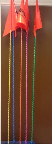 YAMAHA BANSHEE WARRIOR RAPTOR BLASTER 6/' LIGHT WHIP FLAG GLAMIS GREEN FLAG NEW