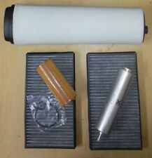 BMW E60 & E61 530D Service kit  Air, Oil Fuel & Carbon Pollen/Cabin Filter