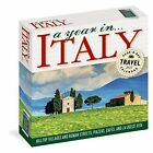 2017 a Year in Italy Colour Pageaday Cal Workman Publishing 9780761190011