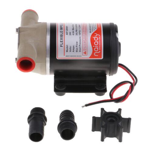 24V 8 GPM 30 LPM Self Priming Centrifugal Impeller Bilge Pump Marine RV