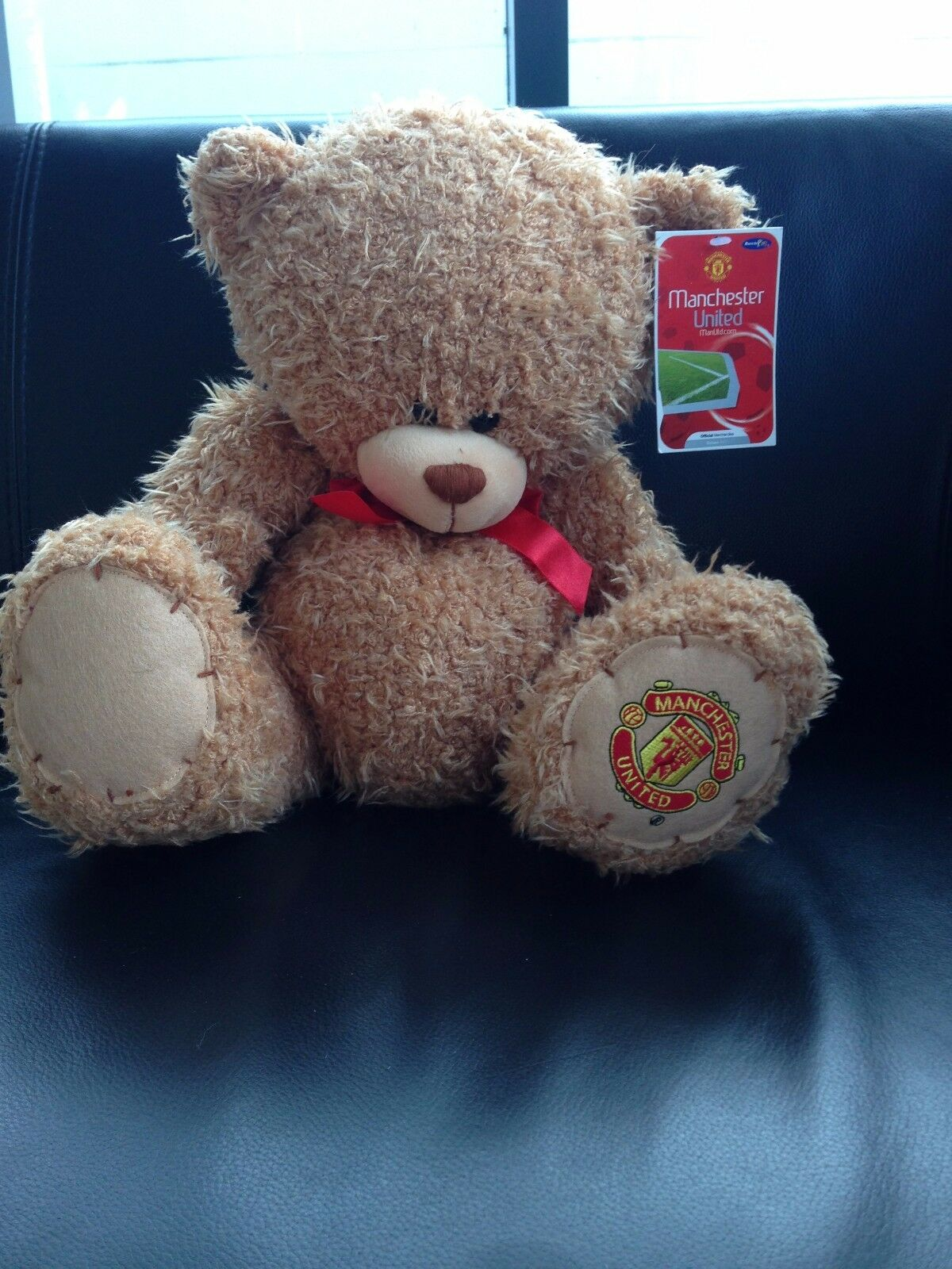 Man Utd 12'' Deluxe Bear, 20 pcs Manchester united Teddy bears