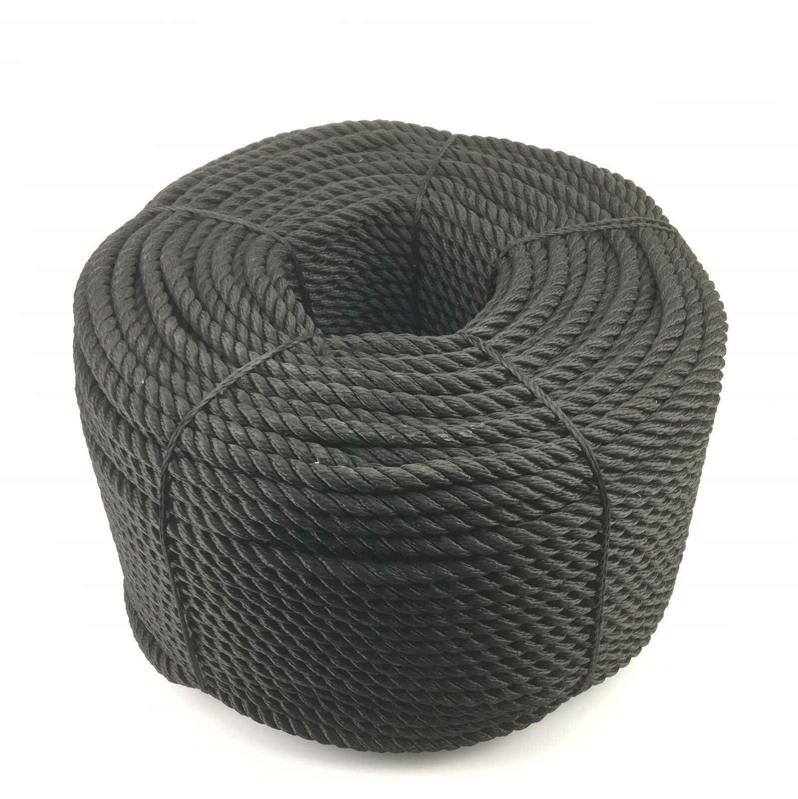 24mm Negro 3 filamentos Múltiple x 100 metres (Flotante (Flotante (Flotante Cuerda) SOFTLINE CUERDA 534992