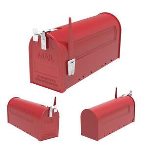 Steel-Mailbox-Post-Outdoor-Letter-Storage-Rural-Designed-Letter-Storage-Garden