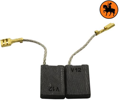 Remplace 31785 Balais de Charbon pour Kress Meuleuse WS6381 S 6,3x16x22mm