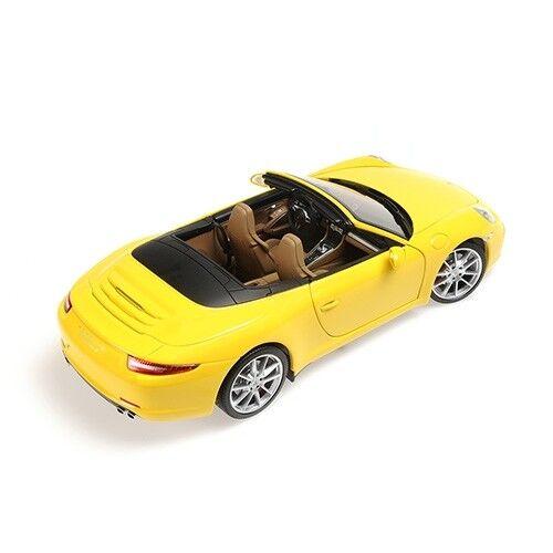 1 18 Porsche 911 Carrera S Cabrio 2012 1 18 • Minichamps 100061031