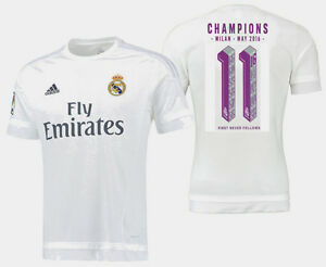new style 89c50 dc648 Details about ADIDAS REAL MADRID CHAMPIONS LEAGUE UNDECIMA HOME JERSEY  2015/16.