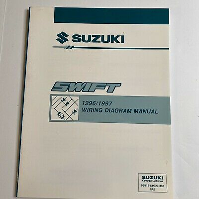 1996/1997 Suzuki Swift Wiring Diagram Manual   eBay