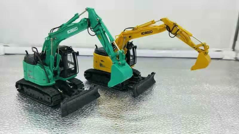 Rare Diecast Model Gift ROS 1 50 KOBELCO ED160BR-5 Ultra Small Round Excavator