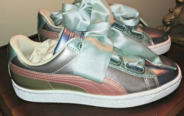 official photos ae313 42433 PUMA Basket Heart Bauble FM SNEAKERS US Size 9 - Womens