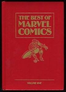 Best-of-Marvel-Comics-Vol-1-Leather-Hardcover-HC-Spider-Man-Wolverine-Thor-Rare