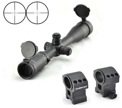 Visionking 4-48x65 Wide Field of View Mil-dot 35mm Rifle scope  Tactical Hunting
