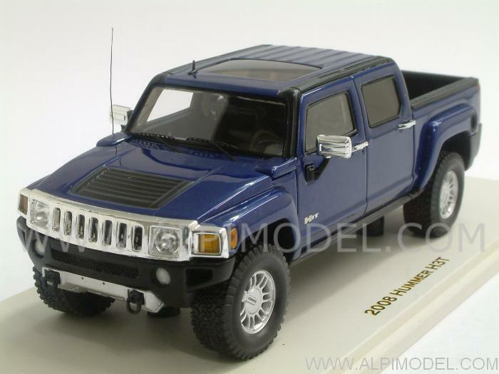 Hummer h3t 2008 All Terrain bluee by spark-MiniMax 1 43 Luxury 101317