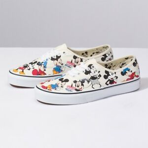 980002135e64 New VANS x Disney Mickey Mouse Authentic 2ND Skate Sneakers Shoes ...