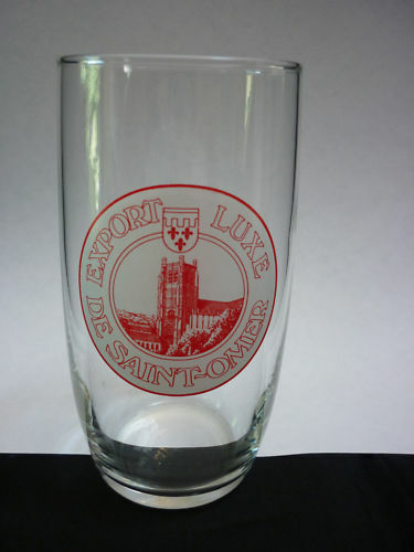 """verre a biere ancien/""""export luxe st omer/"""""""