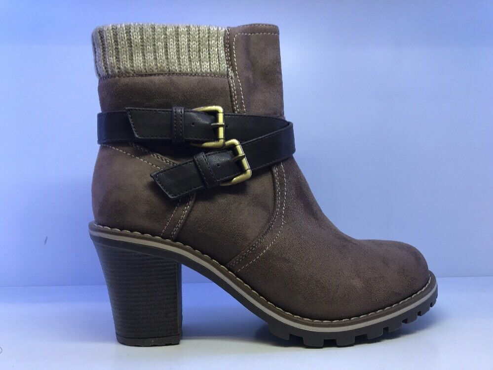 Jumex Brown Suede Ankle Boots Eu 39