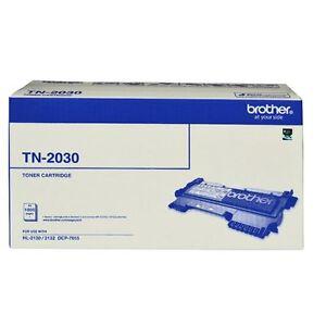 Bulk Buy - 3 x NEW Brother Toner Cartridge Laser Cartridge Black TN-2030 Prin...