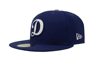 separation shoes 1f77d 72516 Image is loading New-Era-59Fifty-Cap-MLB-Los-Angeles-Dodgers-