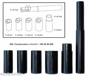 centreur embrayage universel avec adaptateurs 7 pi ces kit montage embrayage ebay. Black Bedroom Furniture Sets. Home Design Ideas