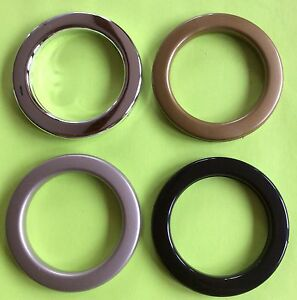 50mm Plastic Eyelets For Eyelet Curtains Eyelet Rings 4