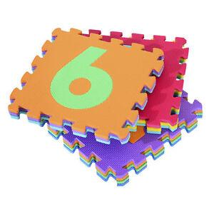 HOMCOM-Alfombra-Puzle-Numeros-para-Ninos-Espuma-EVA-Estera-Juego-Puzzle