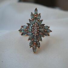 1.56ct  Stunning Colour Change Genuine Alexandrite Gold Ring