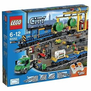 LEGO City 60052: Cargo Train with Remote Control - Brand New