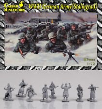 Caesar Miniatures 1/72 WWII German Army in Stalingrad # B09